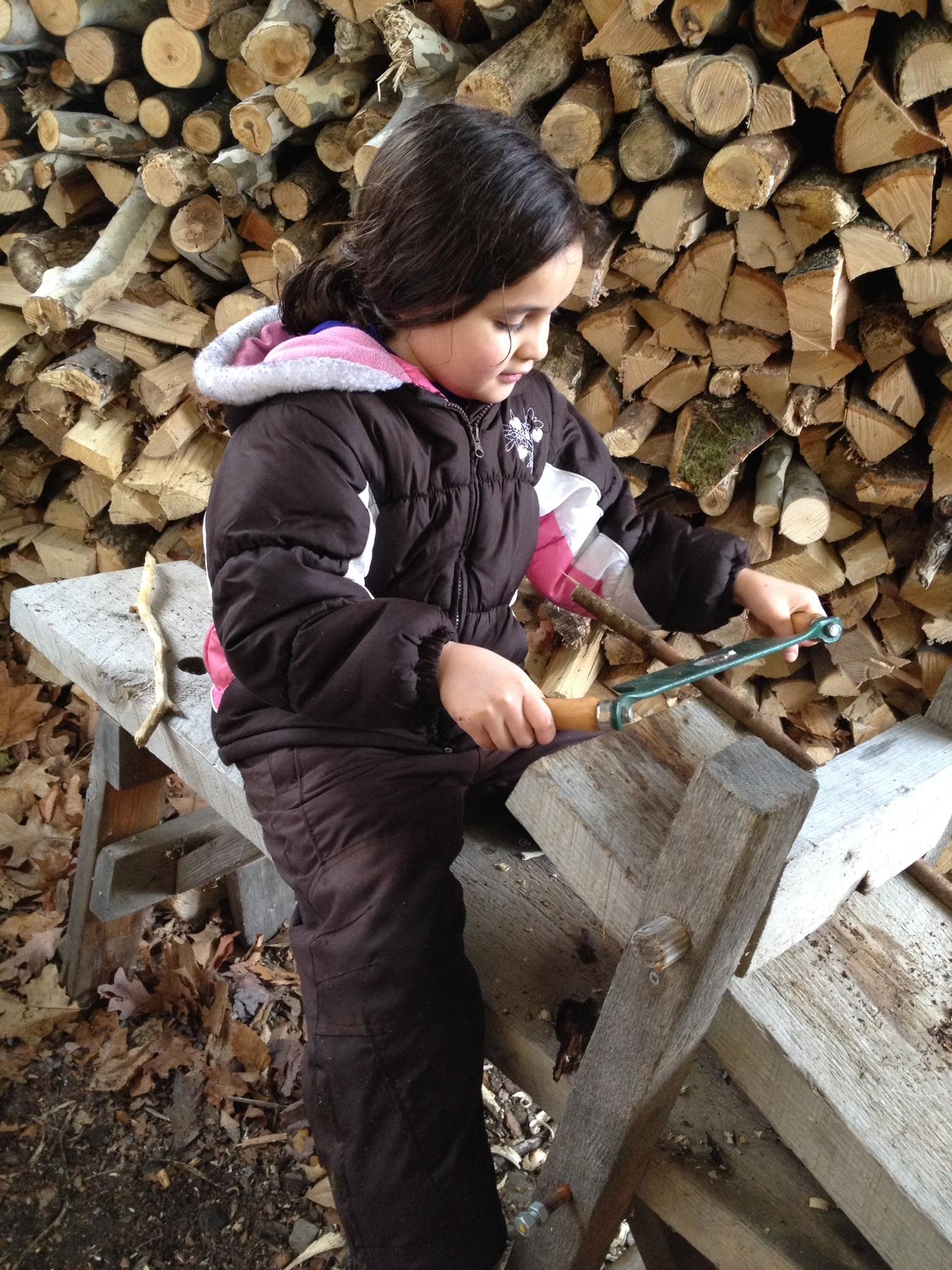 Wood Carving, Maple Sugar Family Weekend
