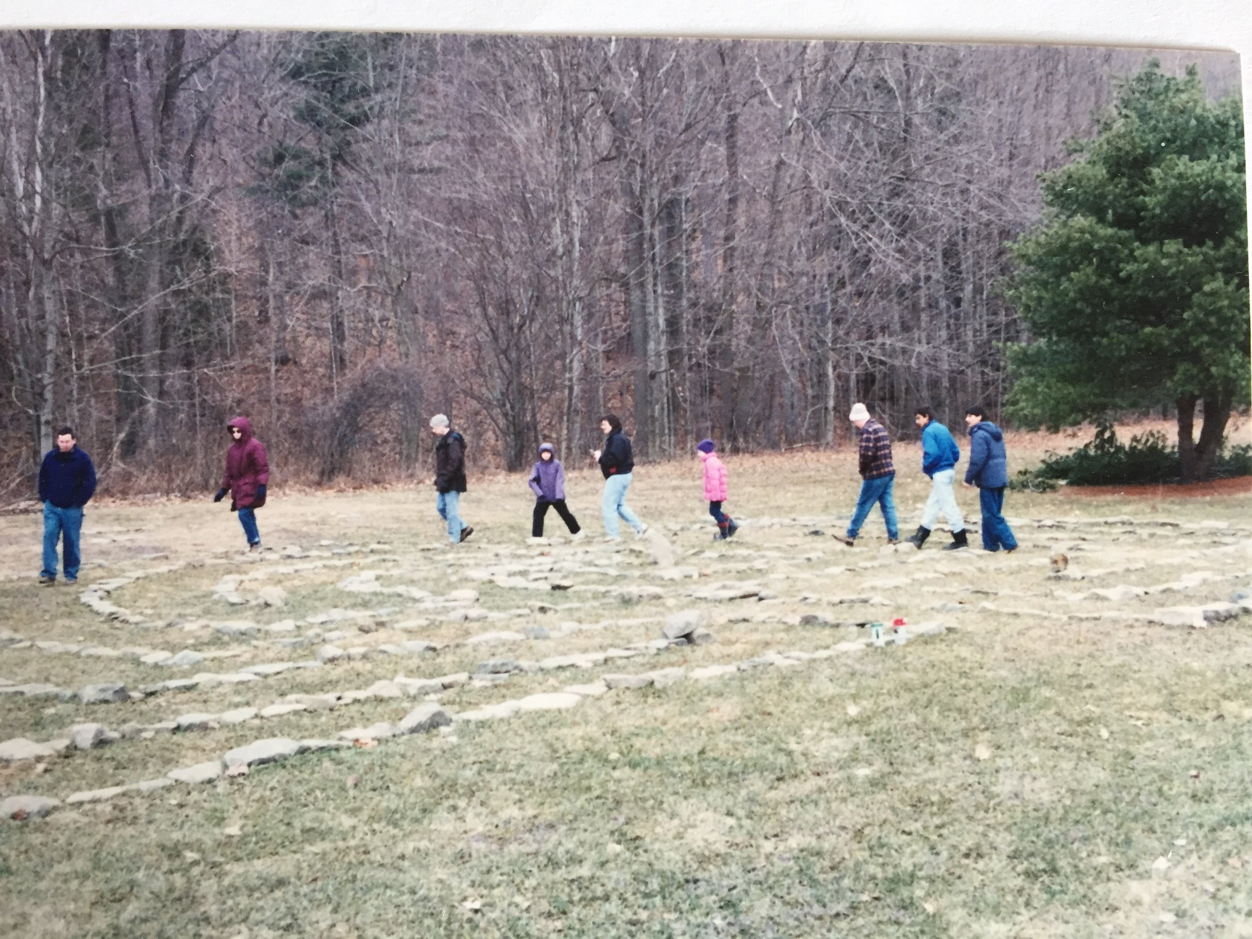 Watson Labyrinth - Many guests have pass through our doors for spiritual, healing/recovery and wellness retreats.
