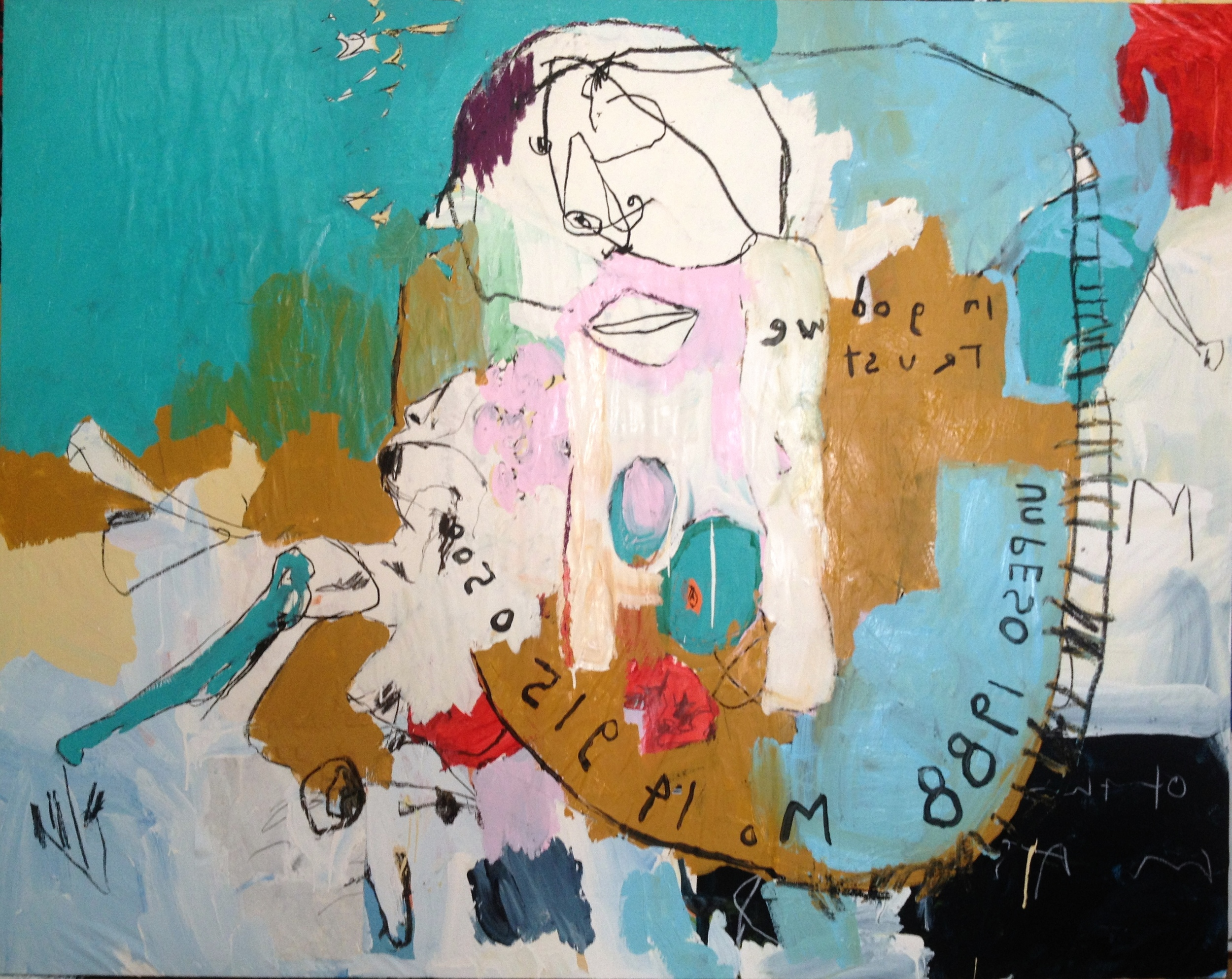 """Currency 51"""" x 65"""""""