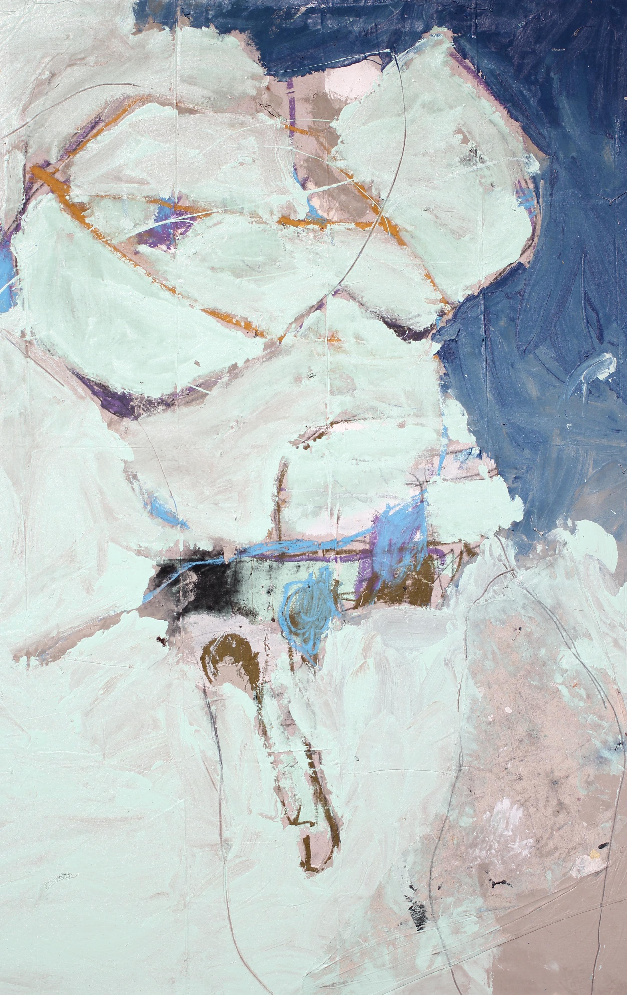 """David in Carrara 55 3/4"""" (w) x 87 1/4"""" (h)"""