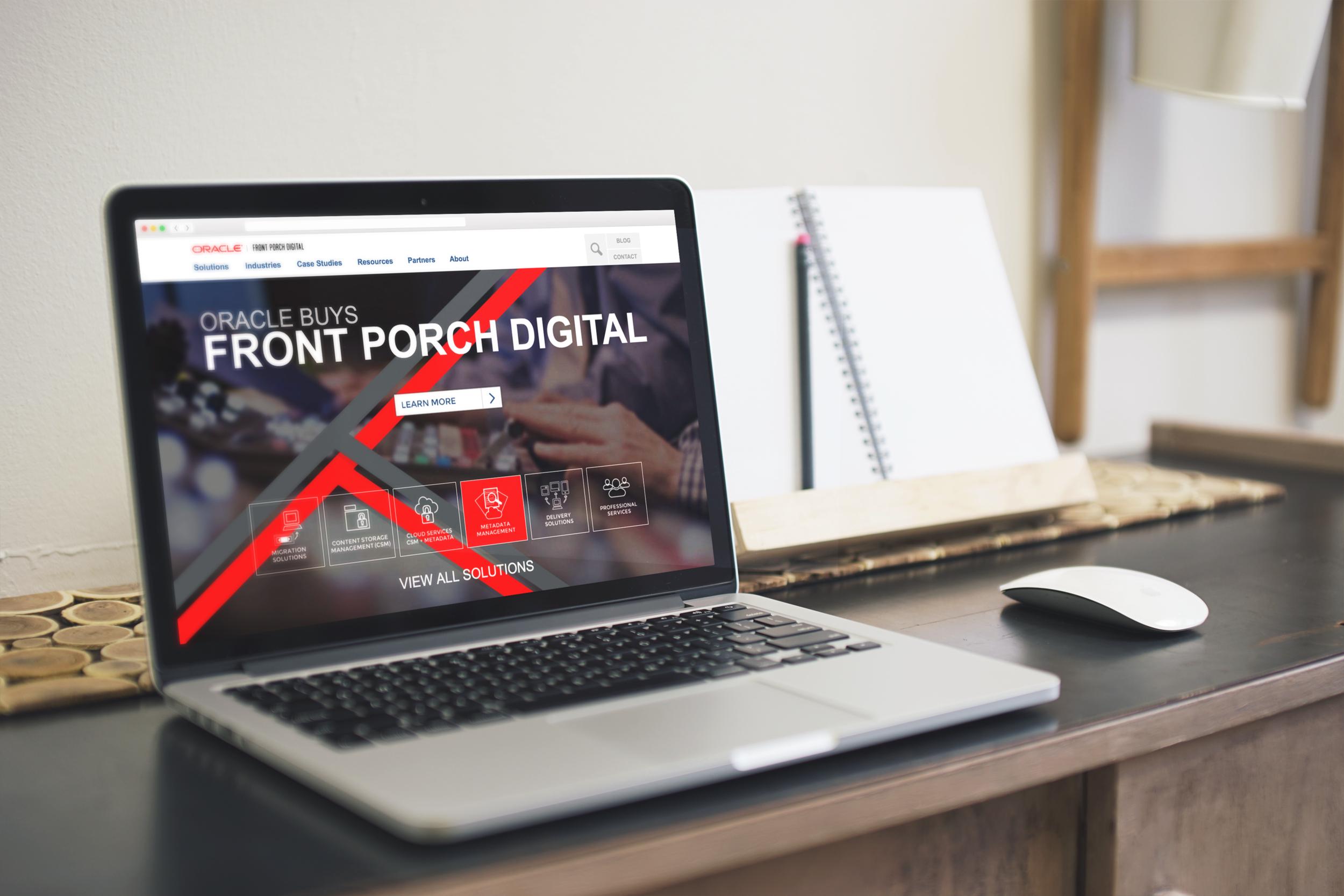 Oracle Front Porch Digital -