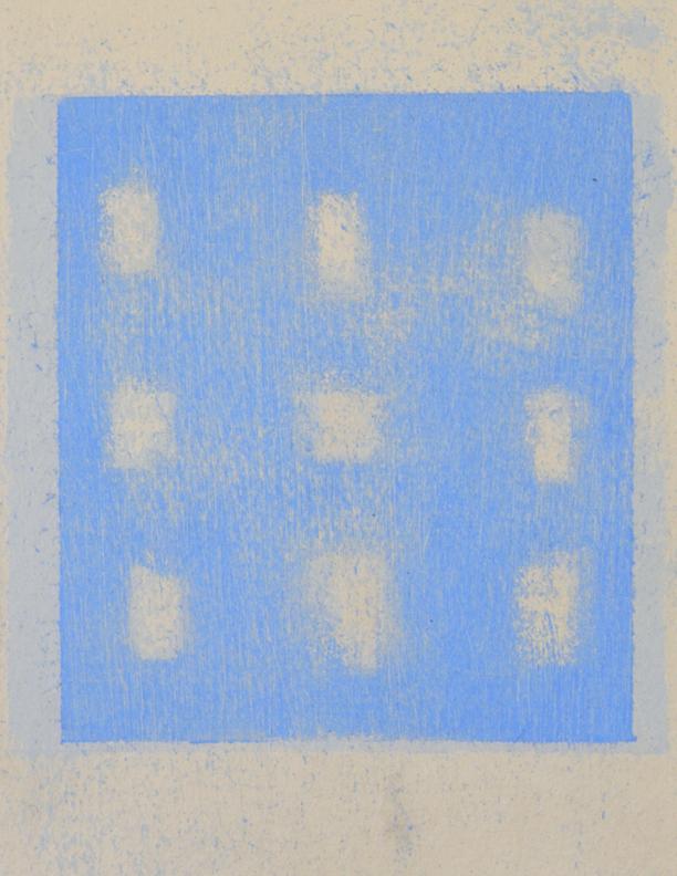 Blue Composition No. 908, (detail)