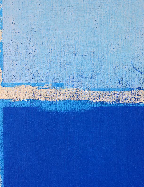 Blue Composition No. 912, (detail)