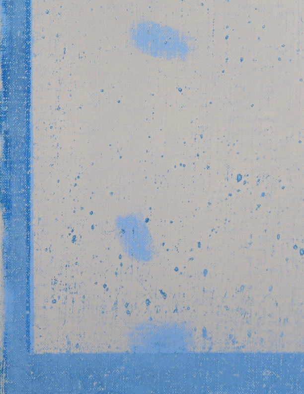 Blue Composition No. 914 (detail)