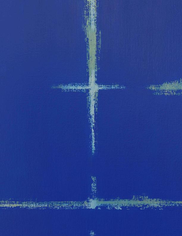 Blue Composition No. 917 (detail)