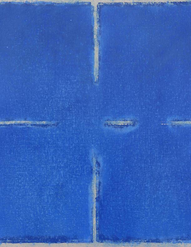 Blue Composition No. 919 (detail)
