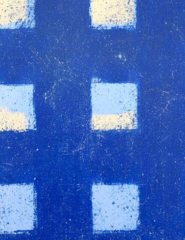 Blue Composition No. 921 (detail)