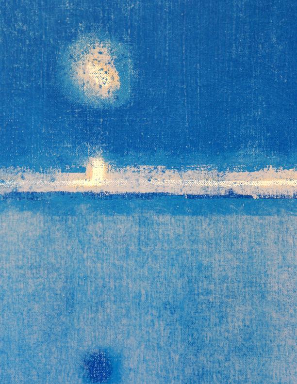 Blue Composition No. 923 (detail)