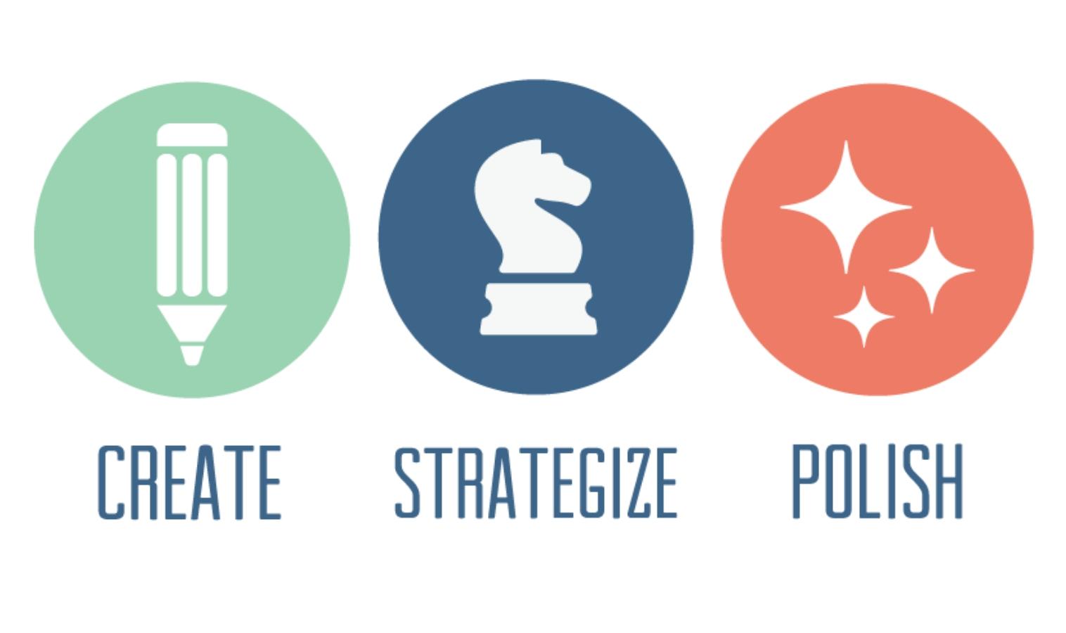 Create Strategize Polish