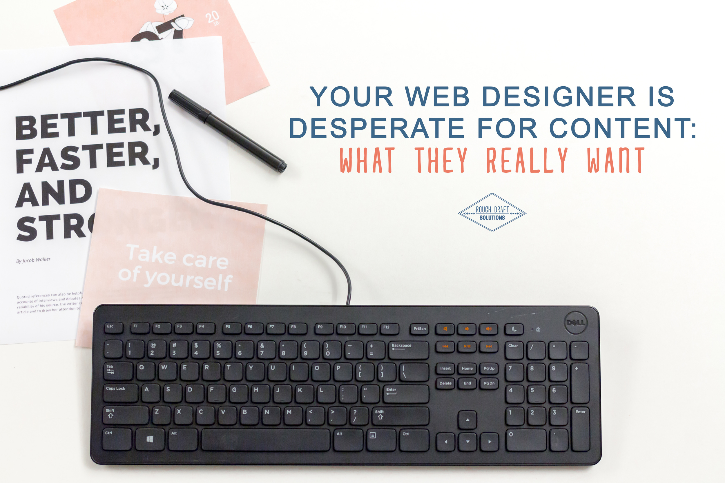 Your Web Designer Is Desperate for Content