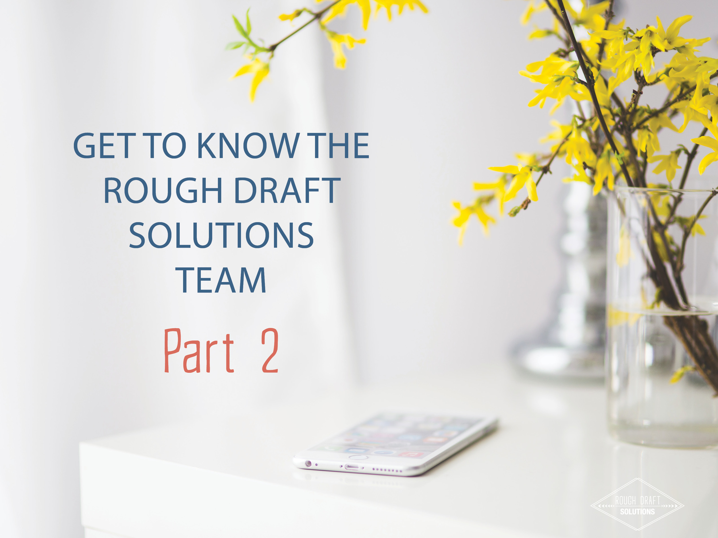 Get to know Rough Draft Solutions