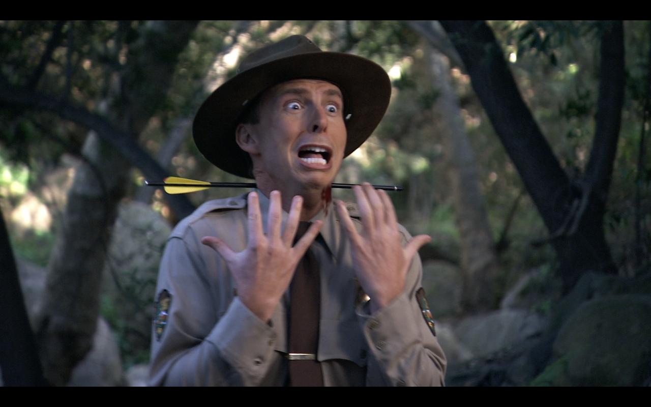 "Jack McBrayer in ""Death Hunt"""