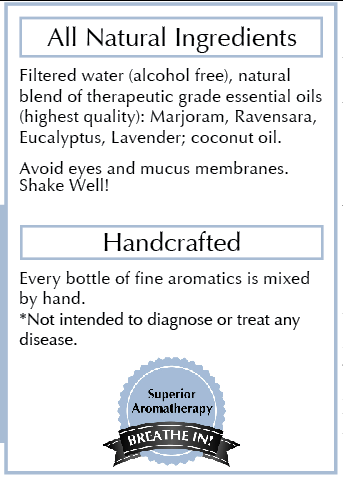 Ingredients: - A bright, rich, clean smell. Superior aromatherapy. NO Alcohol, NO animal testing, NO toxic chemicals. Made with love in California. The highest quality non-GMO natural essential oil aromatherapy ingredients backed by scientific research.Each bottle of essential oils is formulated and labeled by hand, no mass production. Made with love in California.