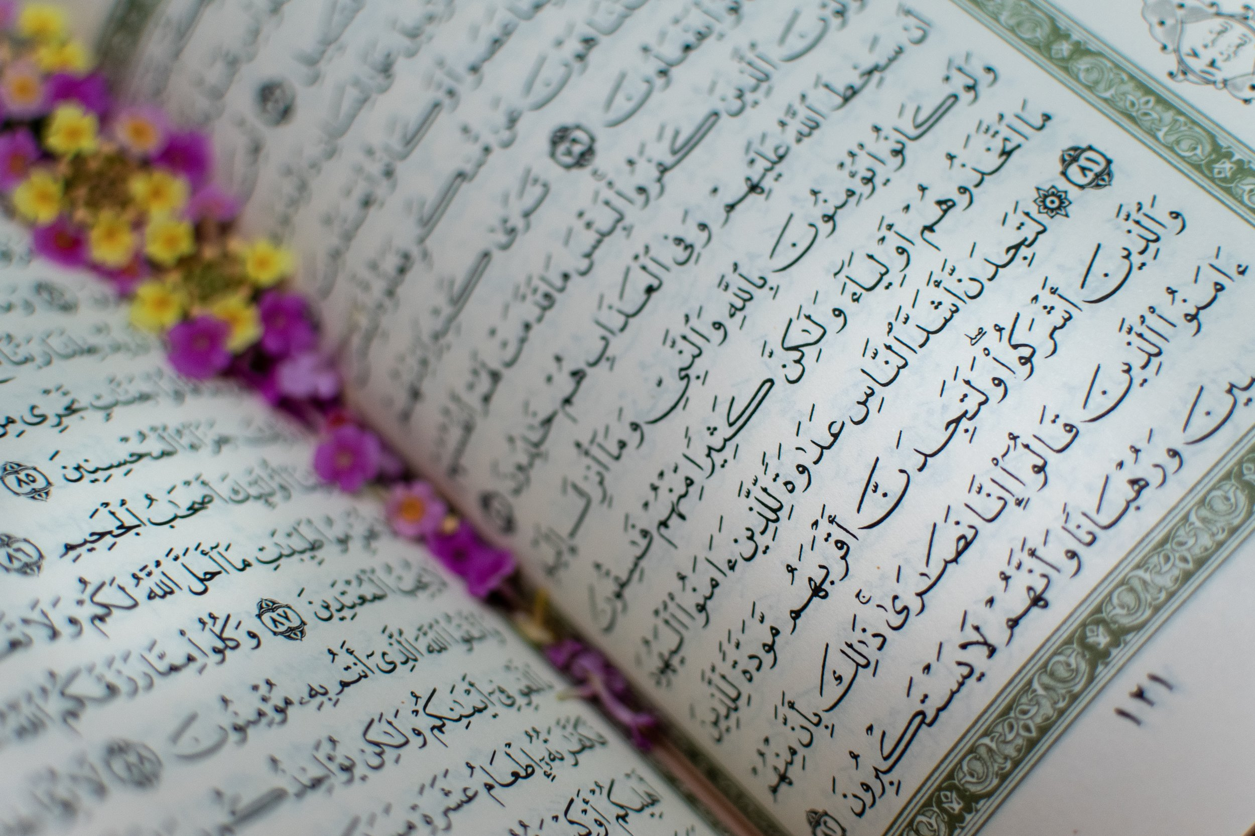 Some of the world's most ancient religious traditions focus on complicated handwriting and calligraphy as a way to learn and pass on information. Photo by  Ashkan Forouzani  on  Unsplash