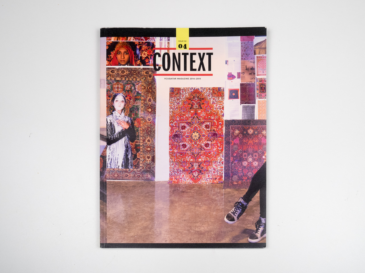 Context   is the annual magazine of Virginia Commonwealth University in Qatar.