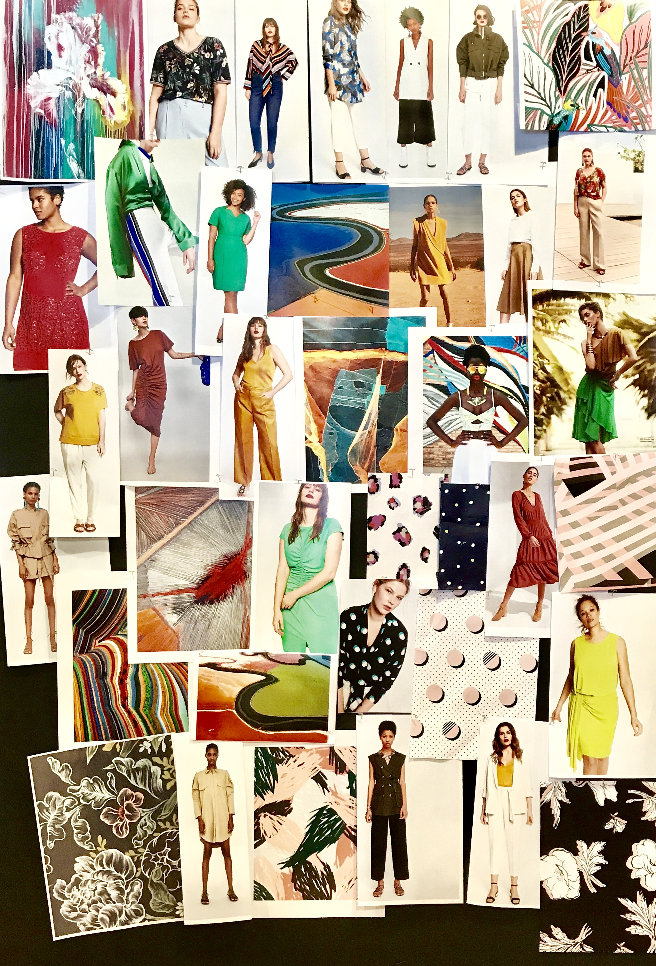 Initial Concept Board; Summer 2019, Simply Emma, Sears