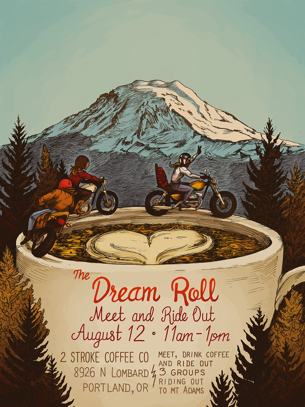 The Dream Roll: Year 2 Meet Up Poster