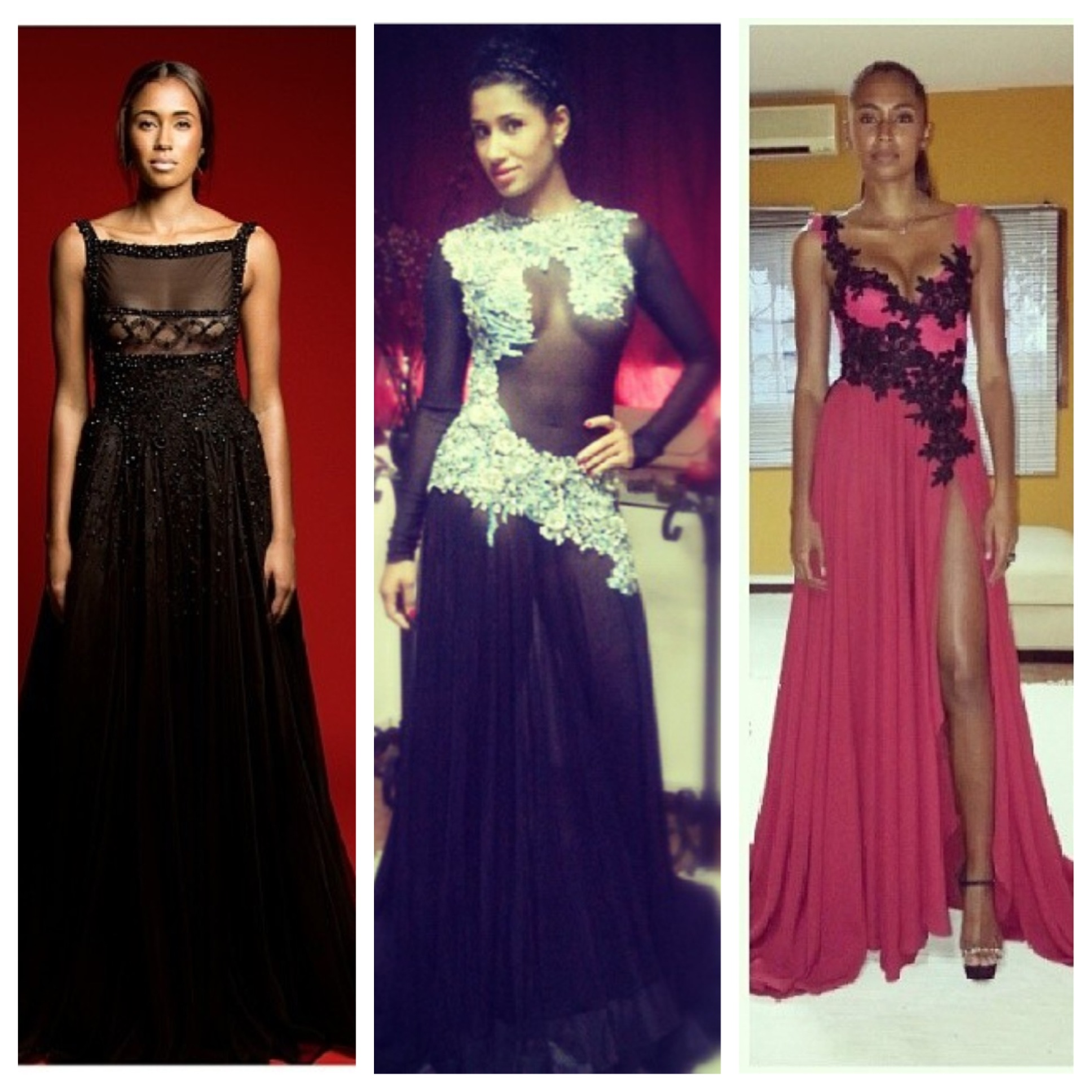 Taibo Bacar of Mozambique is quickly becoming one of my fashion favorites.  His dresses don't come cheap but the final product is nothing short of luxury.  Well placed lace, detailed floral beadwork and elegant sheer panels are some of Mr. Bacar's hallmarks and right now I want to say yes to every single dress!  I believe that his line only does custom work and they can be reached at sales.clientservice@taibobacar.com or whatsapp: 00258827029196.  Photos from Instagram: @taibobacar