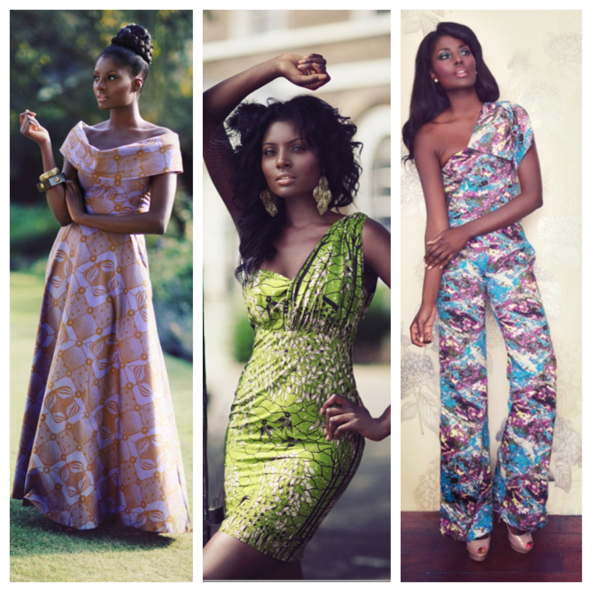 Sometimes all a gal needs is a well placed ankara pattern, and in those times SIka Designs is a go-to online shop.  The brand features clothing that is made primarily in Ghana but shipped from the UK.  Simple yet elegant, their designs can be styled to suit a range of occasions and are perfect for the girl who wants a tailored look without all of the fuss.  The styles pictured above are available  here . Photos from the Sika Designs Website