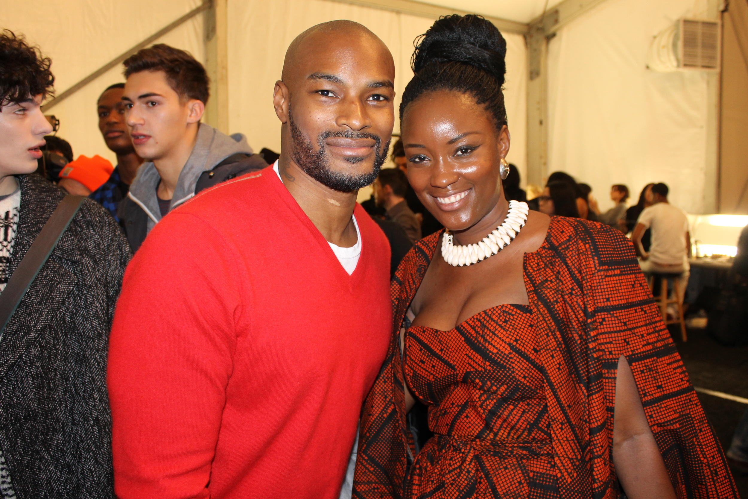 Mary Ann KaiKai with Tyson Beckford