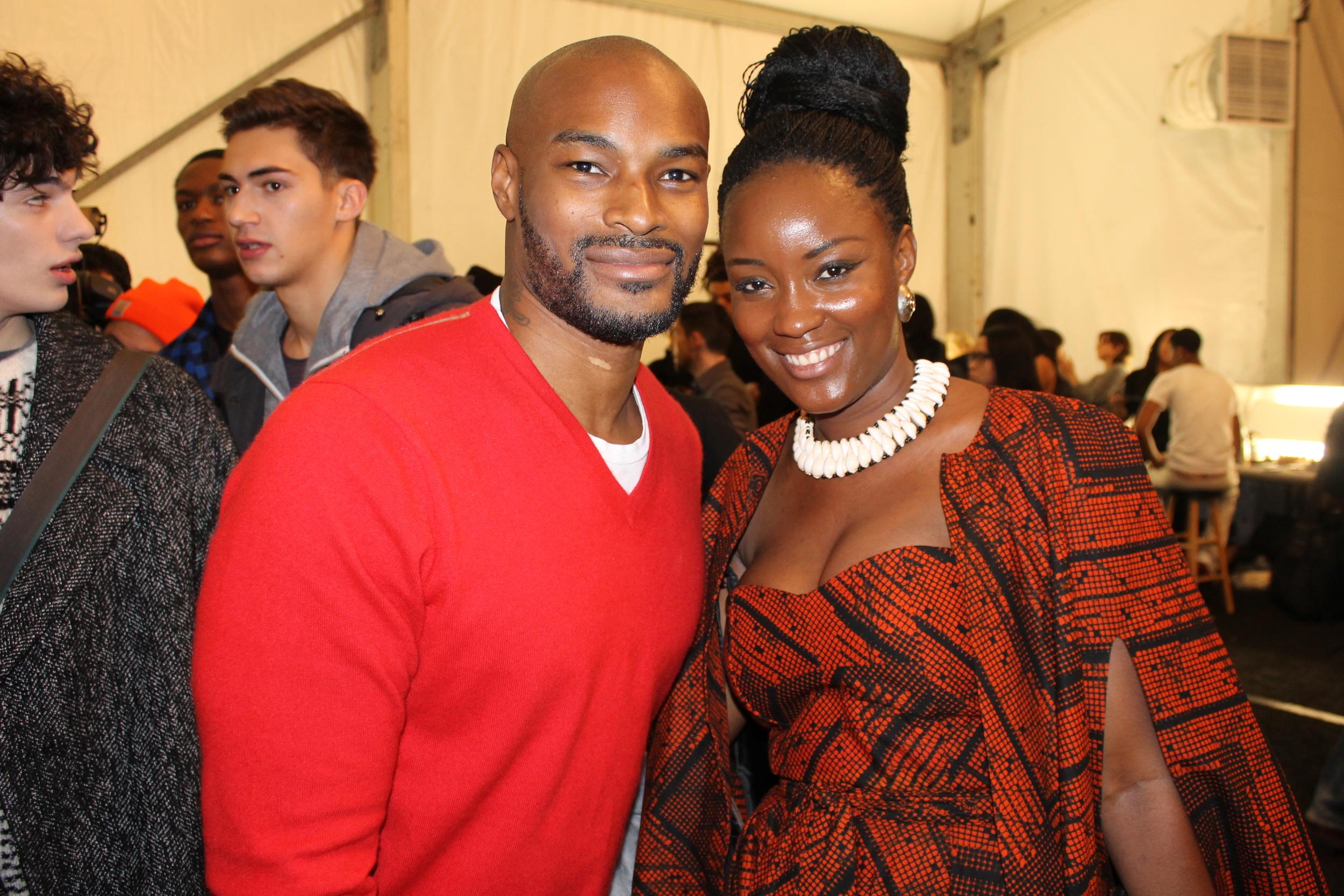 Mary Ann KaiKai with Tyson Beckford