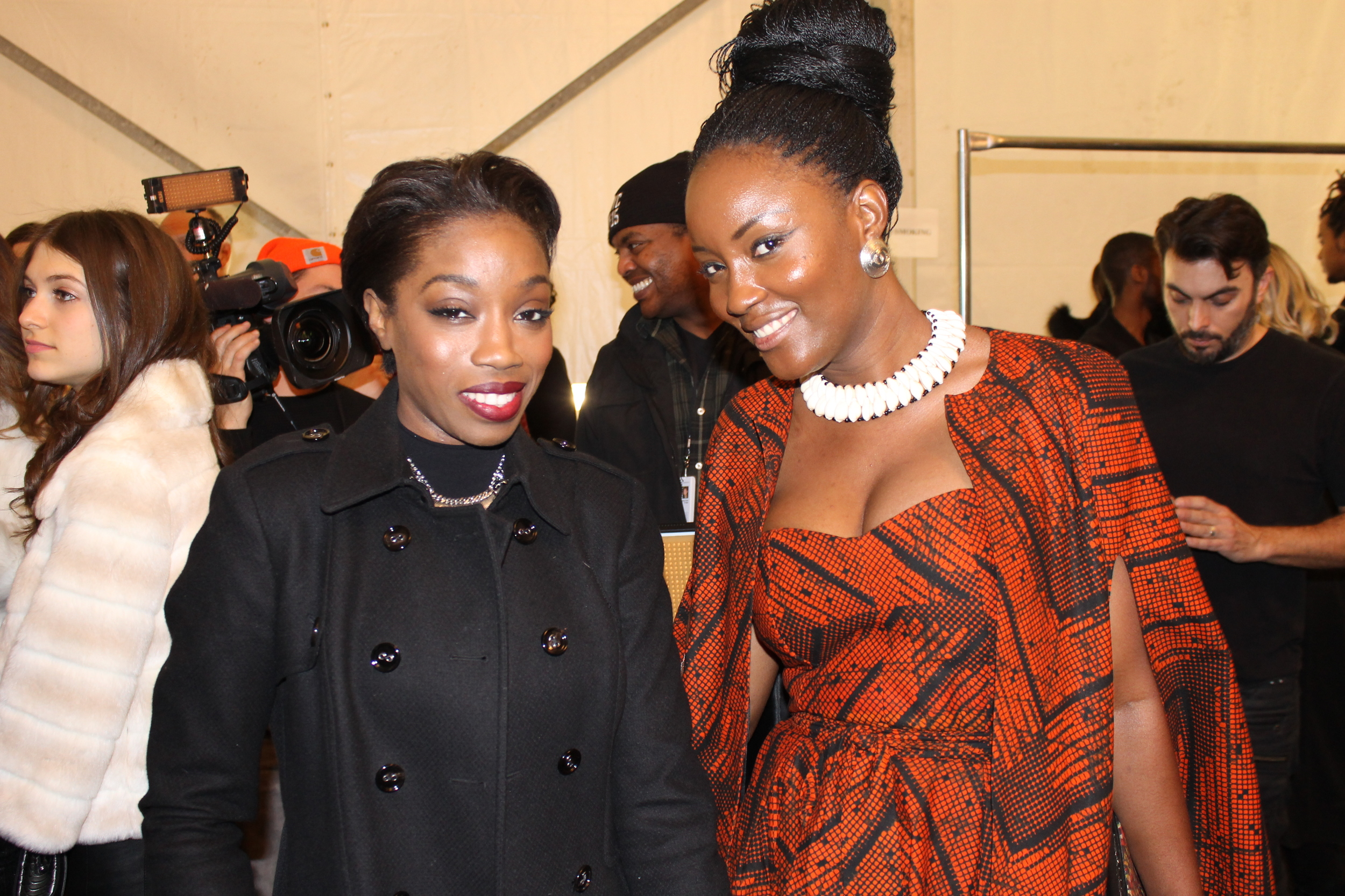 Mary Ann KaiKai with Estelle