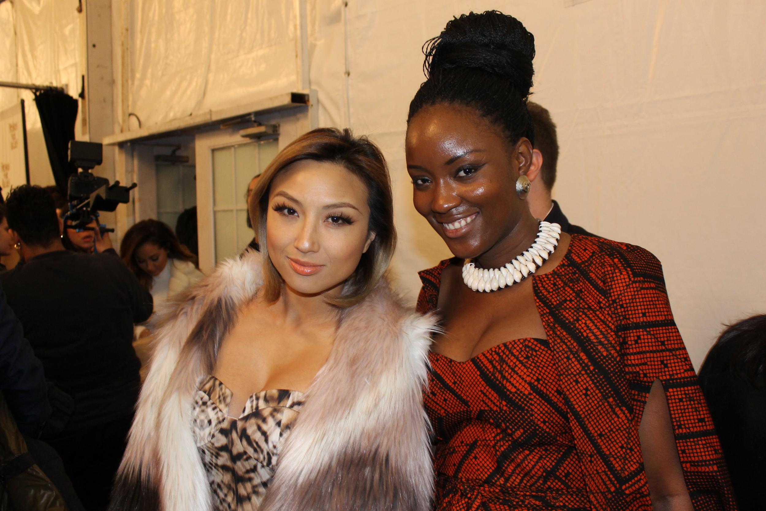 Mary Ann KaiKai with Jeannie Mai of the Real and NBC