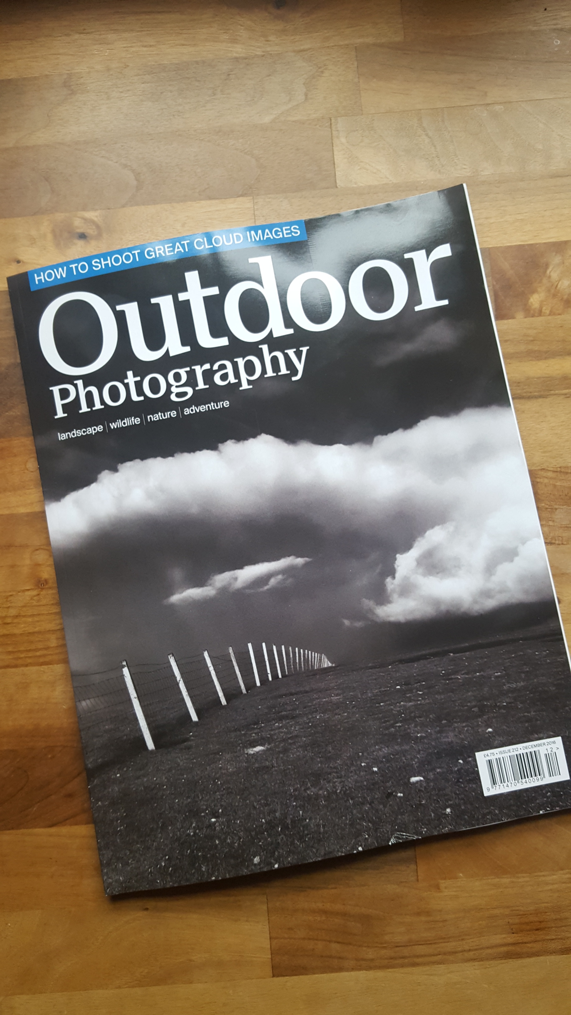 First Magazine Cover Image