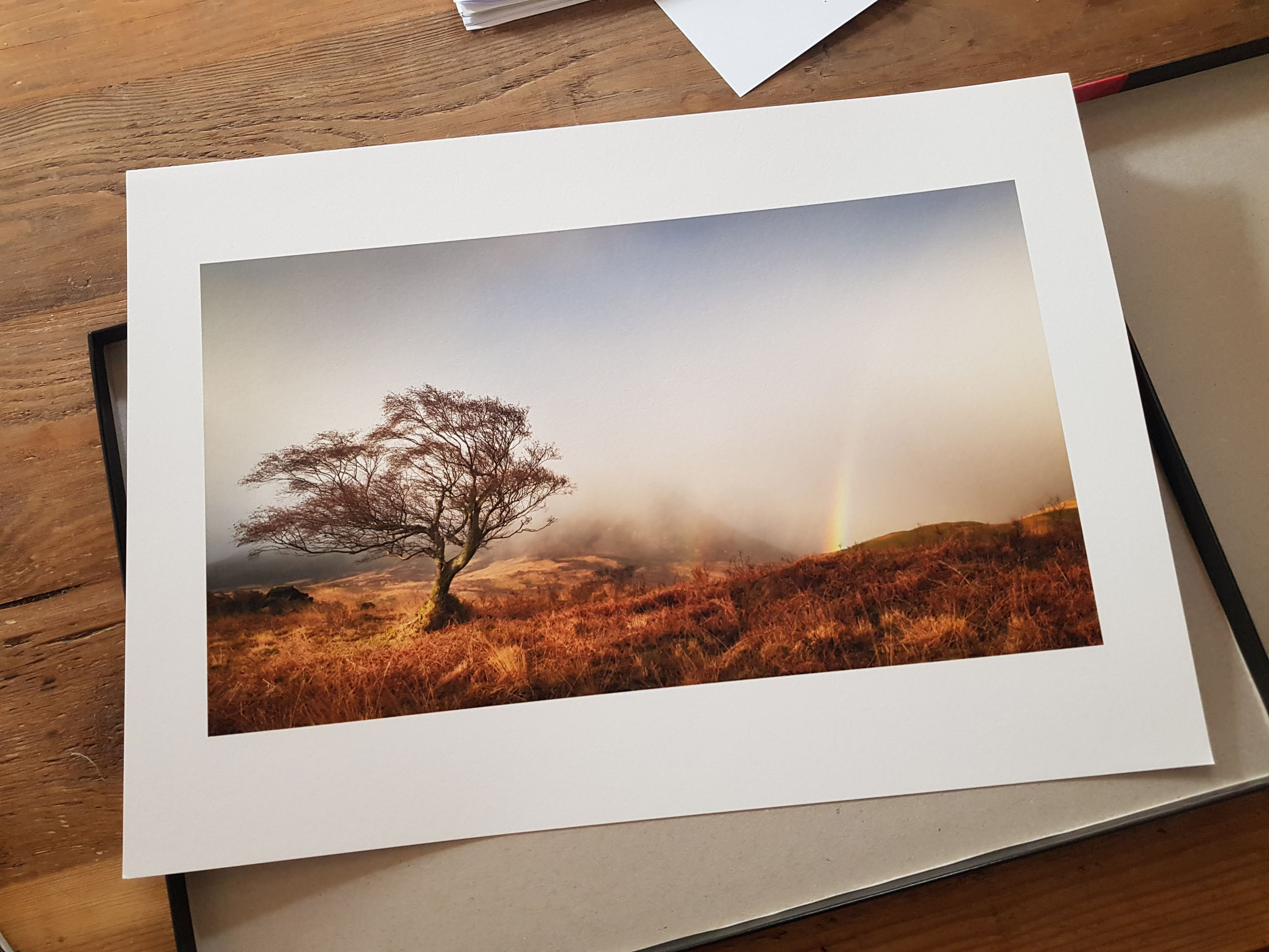 - Arran Light printed by Fotospeed on their A3 NST Bright White paper