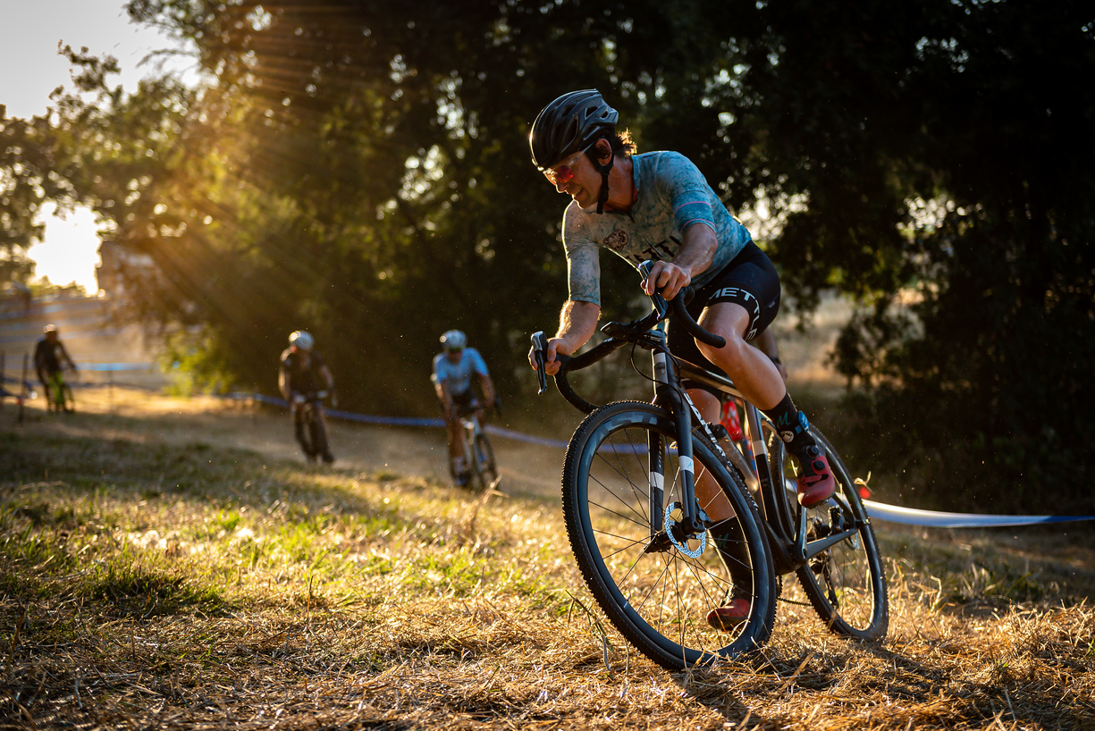 Go Tubeless - Racing in a new state in late summer means unpredictable surface conditions.