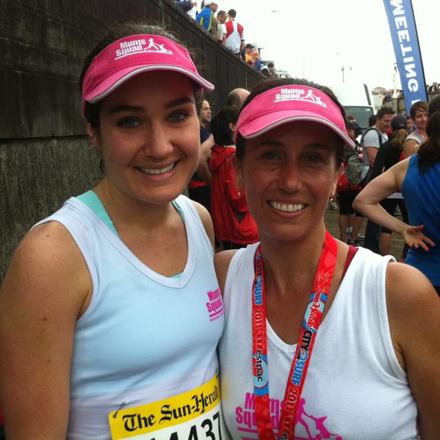Claire Hovagimian & Vanessa Harvey 2011 City2Surf.jpg