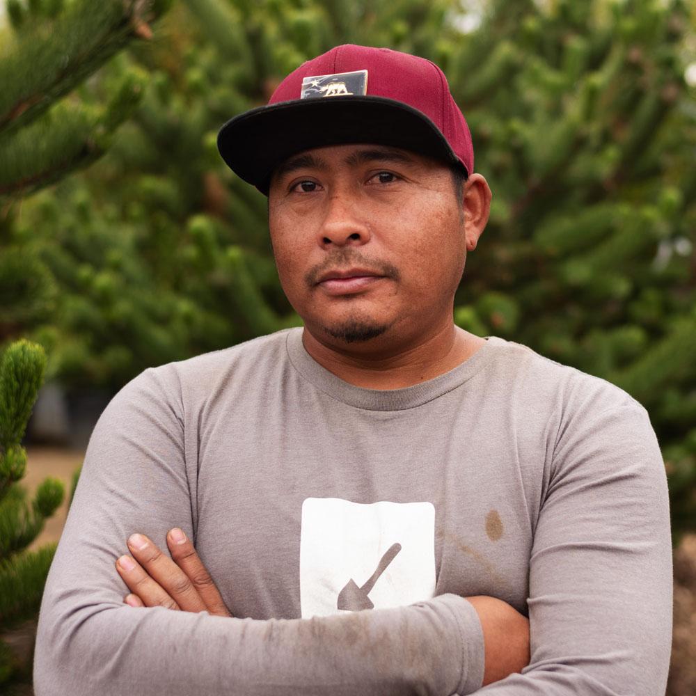 Eduardo Hernandez, Construction Foreman, Solid Ground Landscape, Inc.