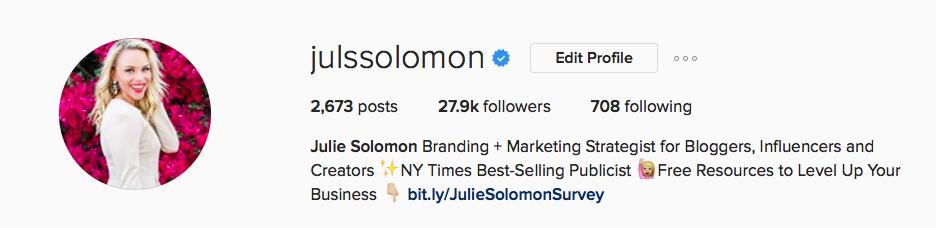 julie_solomon_instagram_bio