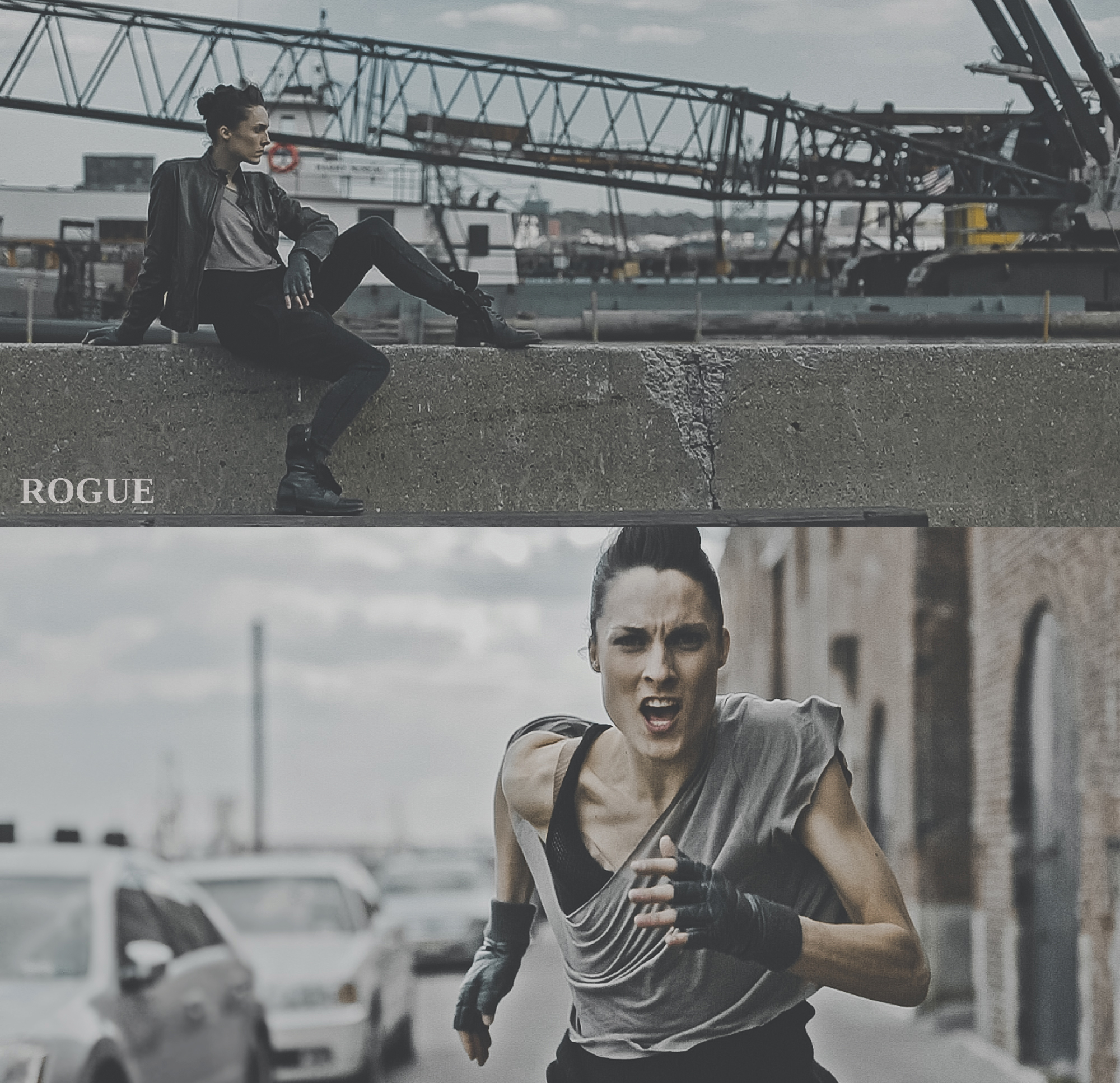 ROGUE menswear campaign. Dancer: Drew Jacoby