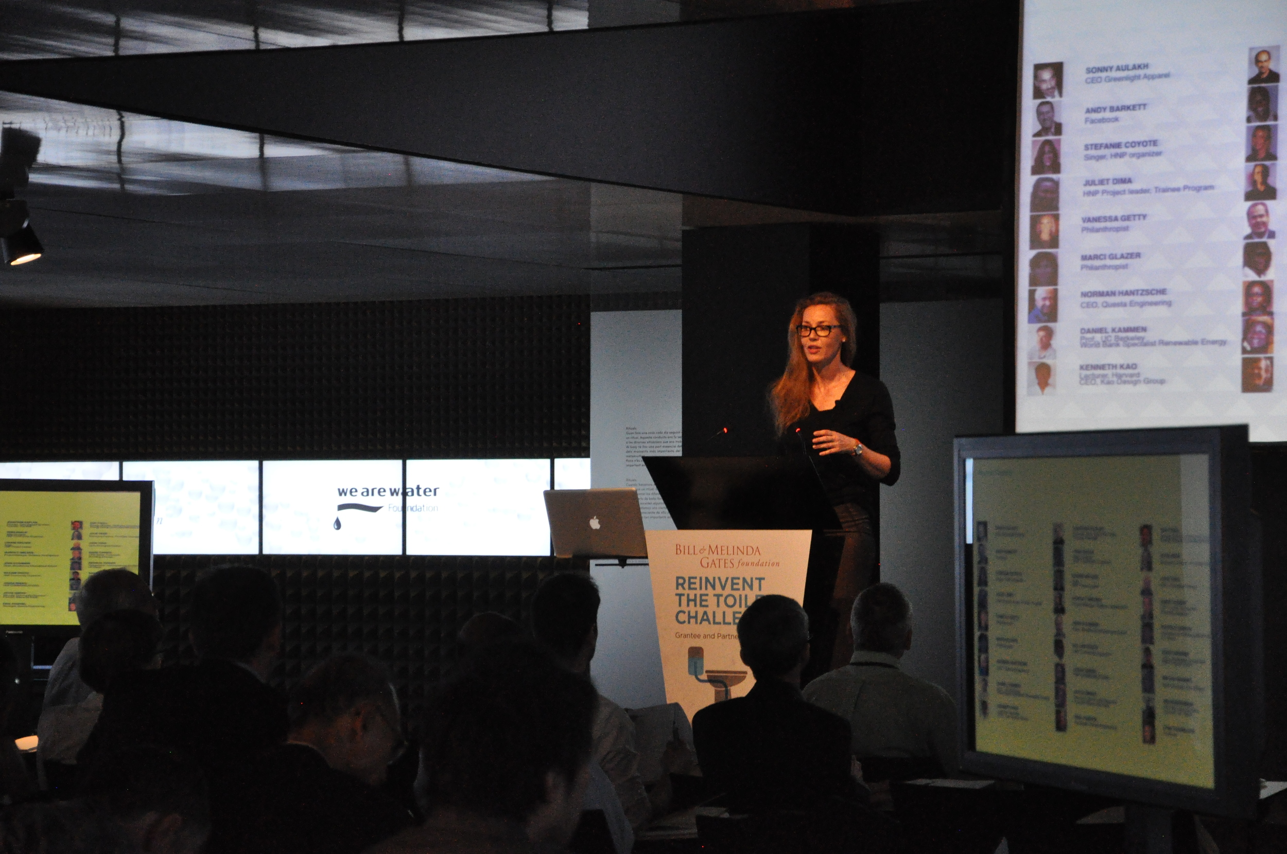 Keynote speech at the Bill and Melinda Gates Reinvent the Toilet challenge, Barcelona, 2013