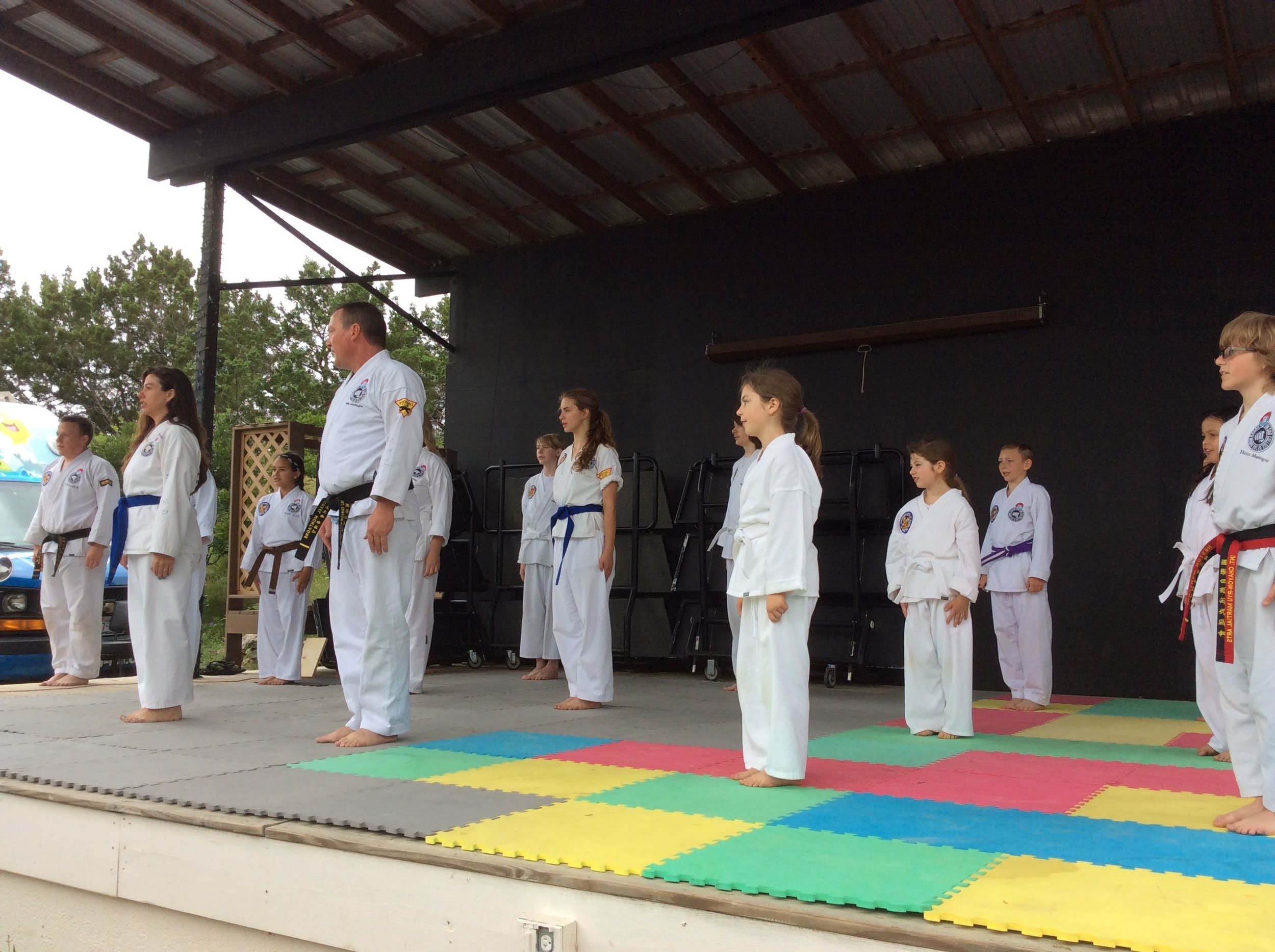 WImberley Karate Marial Arts Butterfly Days