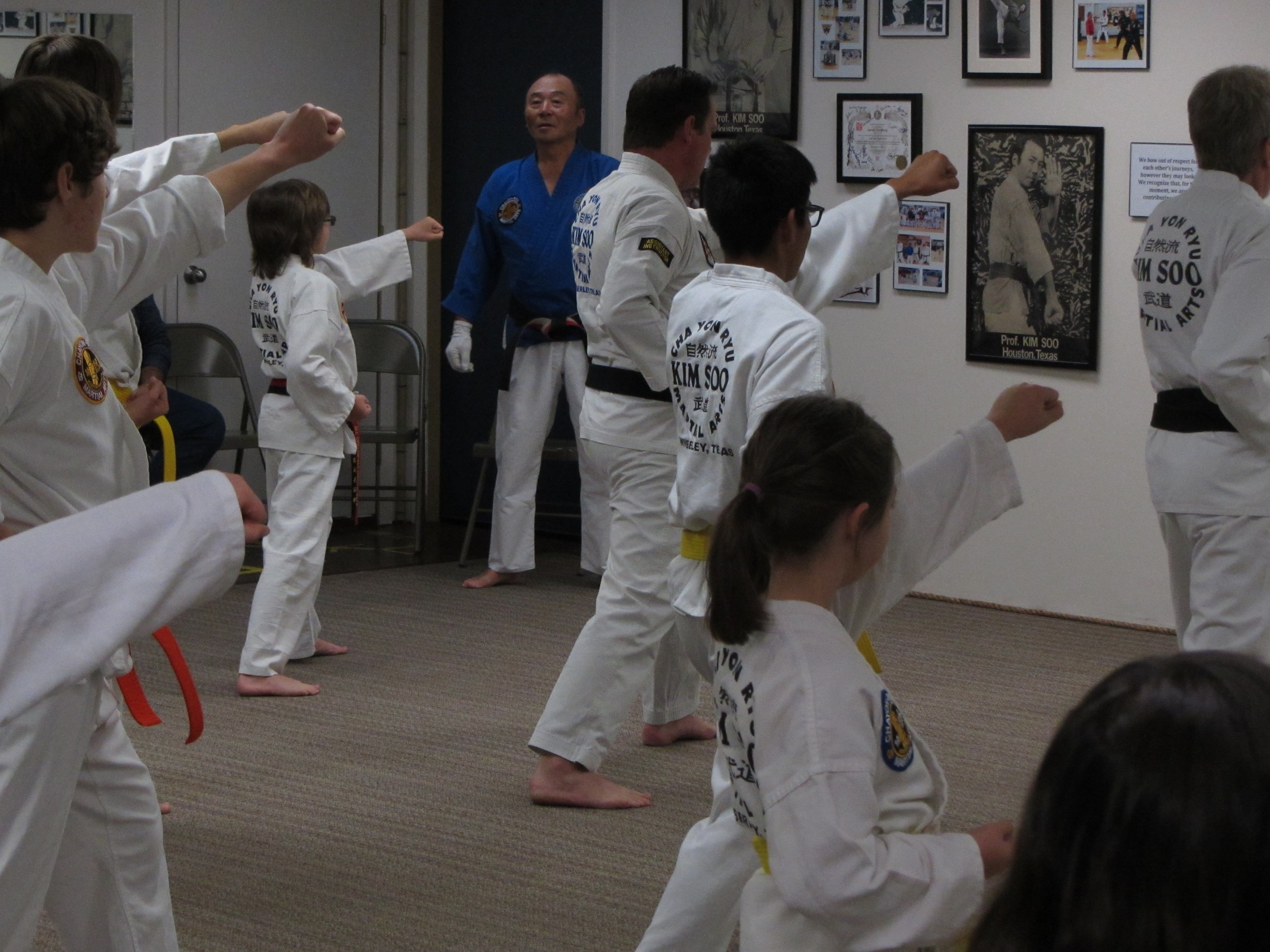 Wimberley Chayon Ryu - Karate Martial Arts Kim Soo