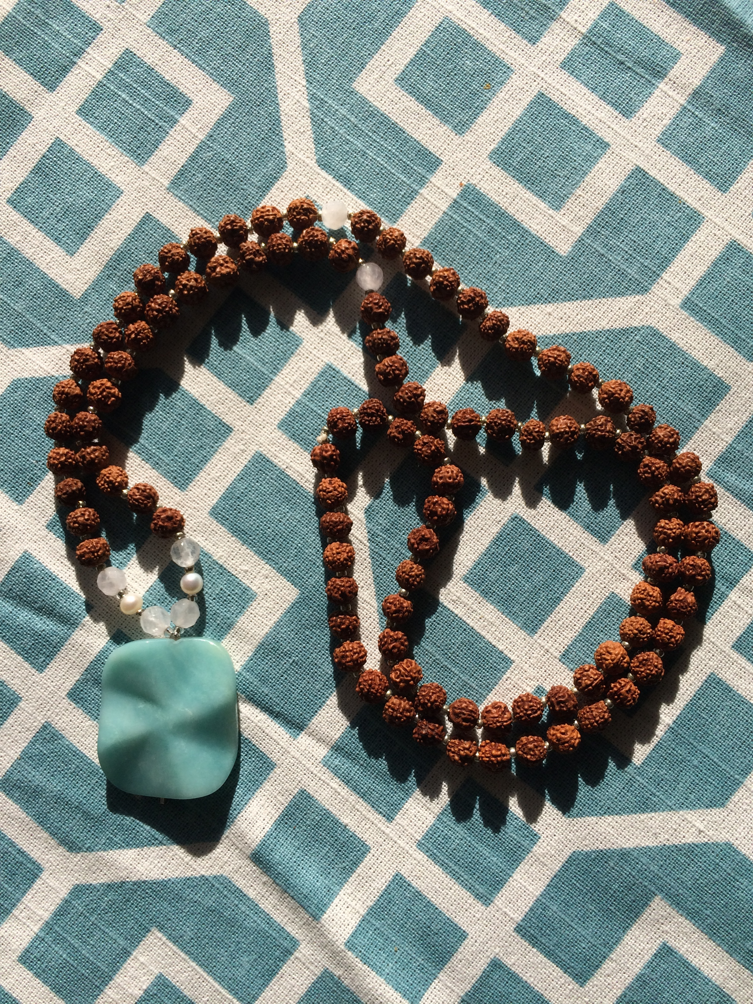 My favorite mala. Big love to  Tiny Devotions .