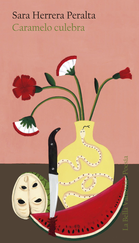 """Caramelo culebra. - NOVEDAD. POESÍA. La Bella Varsovia, 2019.""""La reflexión sobre la importancia de la escritura, la maternidad como bálsamo y también como desafío, el compromiso con una sociedad que desdeña el lugar que habita y a quienes la componen"""".""""Un libro estupendo, maduro, equilibrado y hermoso"""". Los libreros recomiendan.Ilustración de cubierta: María Melero."""