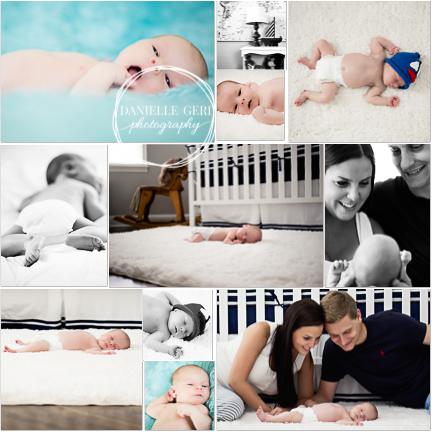 Newborn Photographer Buffalo Minnesota Baby Boy