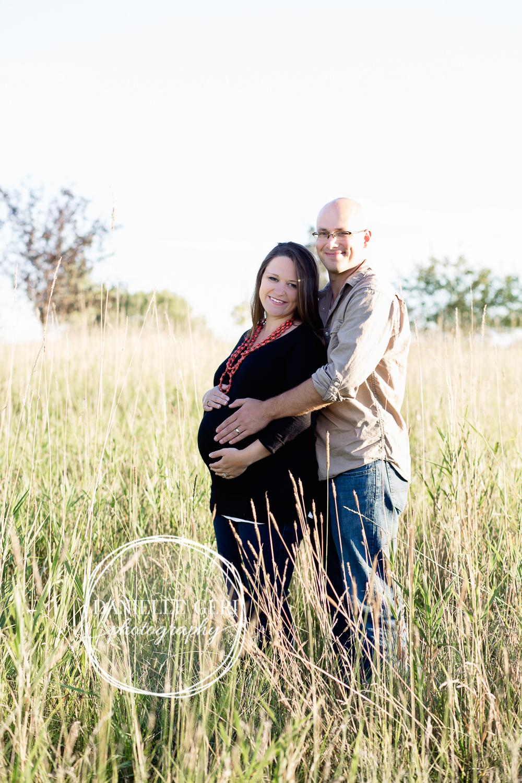Fall maternity photos in andover minnesota