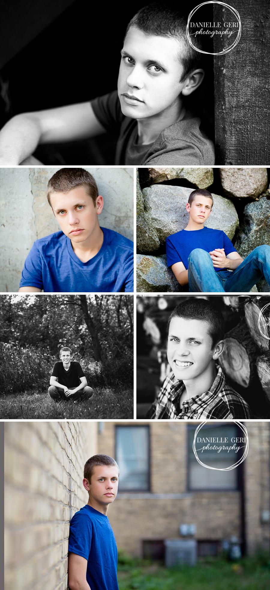 Minnesota Senior Photos, Outdoor Male Senior Pictures