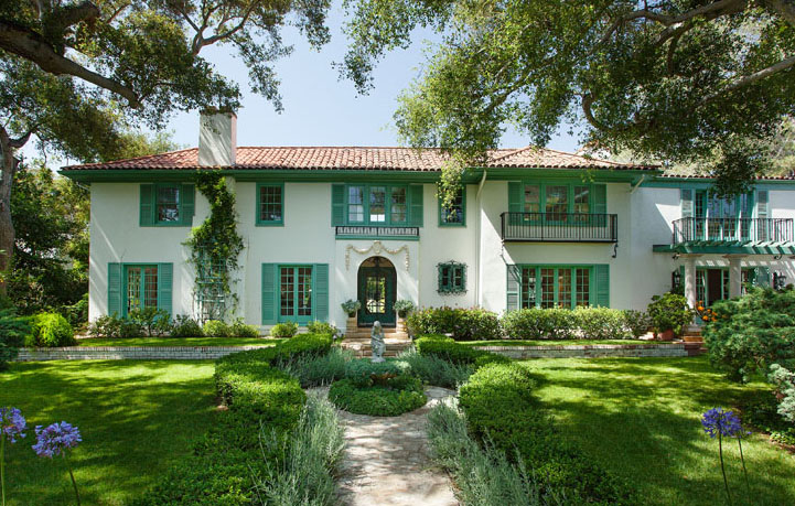 a montecito home currently on the market