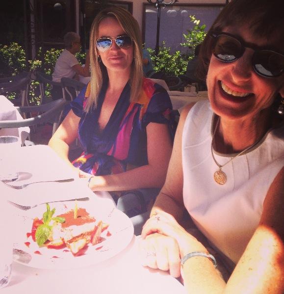 Sarah Kelly and Rebecca Riskin at Via Vai