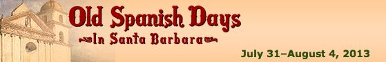 Santa Barbara's Old Spanish Days banner
