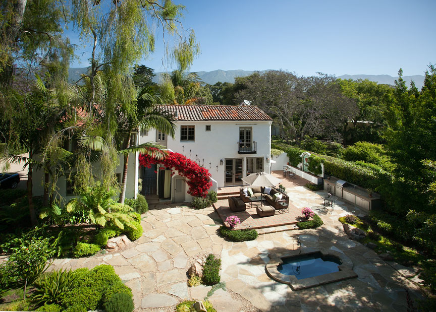 Riskin Associates recently sold this romantic George Washington Smith estate in Montecito.