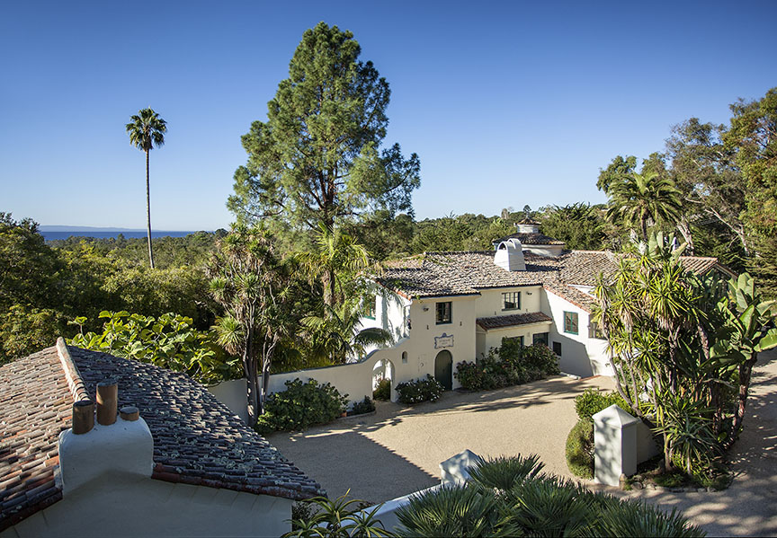Stunning Spanish Compound w/ Ocean views in Montecito.