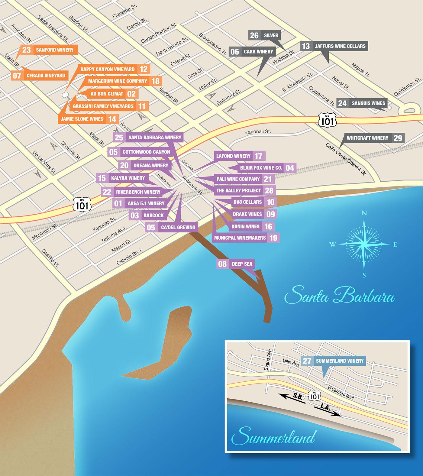 Urban Wine Trail riskin partners montecito wineries