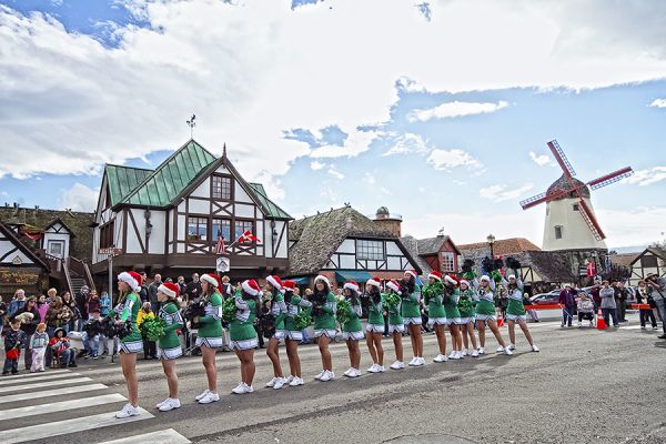 solvang julefest parade riskin partners luxury real estate montecito real estate Santa Barbara real estate