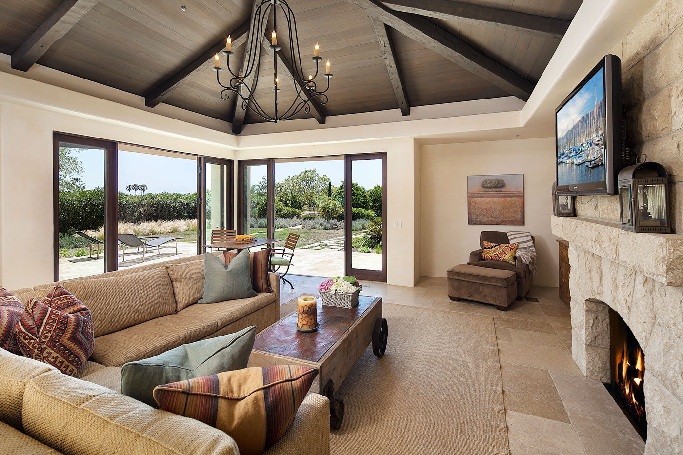 Property for Sale: 667 Juan Crespi Lane, Montecito, CA 93108 5 Beds 6.5 Baths 5,021 Sq Ft Casual Luxury!